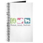 Peace, Love, Shelties Journal