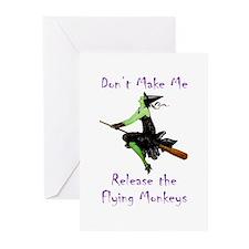 Don't Make Me Release The Flying Monkeys Greeting