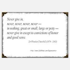 (Never - Churchill - A)