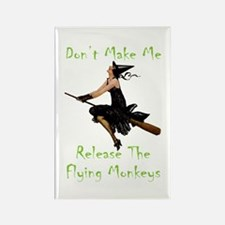 Don't Make Me Release Rectangle Magnet (100 pack)