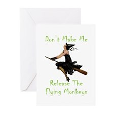 Don't Make Me Release Th Greeting Cards (Pk of 10)