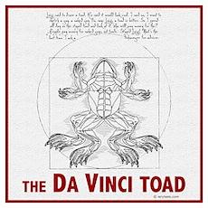 Da Vinci Toad Poster