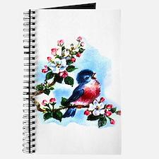 Vintage Bluebird Art Journal