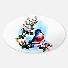 Vintage Bluebird Art Decal