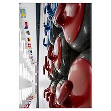 Curling Club Stones 11x14