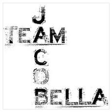 Team Jacob & Bella Poster