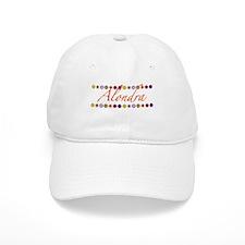 Alondra with Flowers Baseball Cap