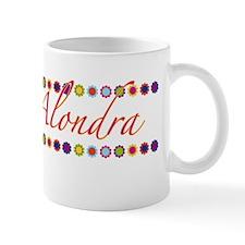 Alondra with Flowers Mug