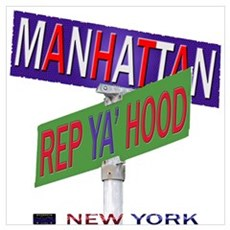 REP MANHATTAN Poster