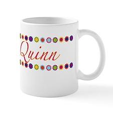 Quinn with Flowers Mug