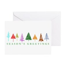 Christmas Trees Greeting Cards (Pk of 10)
