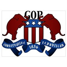 GOP Coat of Arms Poster