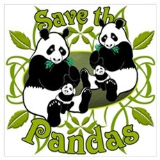 Save the Pandas v2 Poster