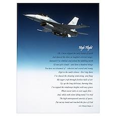 """""""High Flight"""" 9""""x12"""" #5 Poster"""
