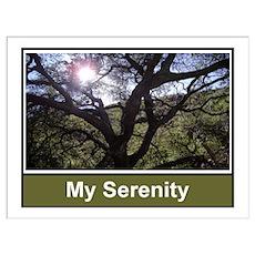 My Serenity Print Poster
