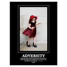 : ADVERSITY - 9x12 Print Poster