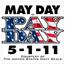 May Day is Pay Day Canvas Art
