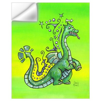 Sprite the dragon, 11 x17 Print Wall Decal