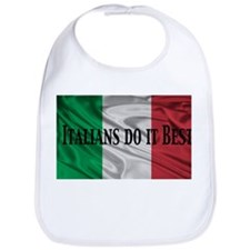 Italians Do It Best Bib