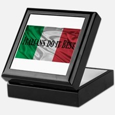 Italians Do It Best Keepsake Box