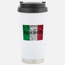 Italians Do It Best Stainless Steel Travel Mug