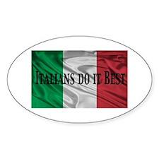 Italians Do It Best Decal