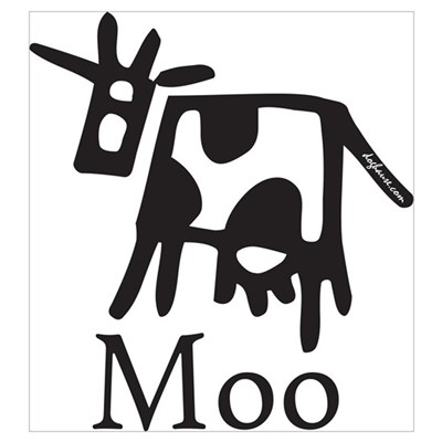 Moo Poster