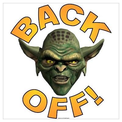 BACK OFF! ~ Poster