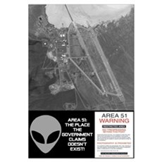 """Area 51"" Canvas Art"