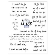 Alice Quotes Poster
