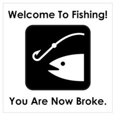 Welcome To Fishing! Poster