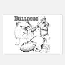 Bulldog Collage Postcards (Package of 8)