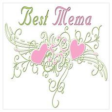 Best Mema Hearts Poster