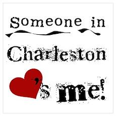 Charleston Loves Me Poster