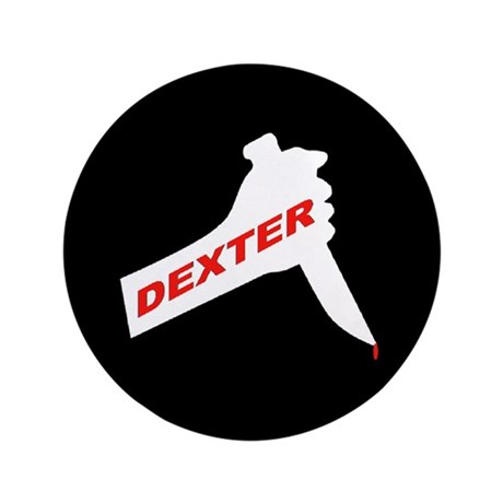 "Dexter new season 3.5"" Button"