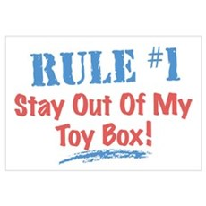 Toy Box Rules Poster