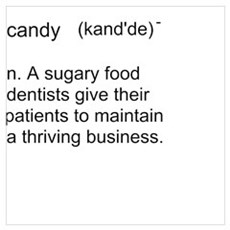 Candy Definition Poster