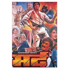 Mard Bollywood Framed Print