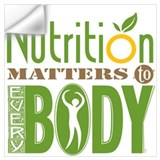 Nutrition Wall Decals