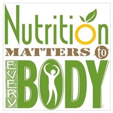 Nutrition Matters To Every BODY Framed Print