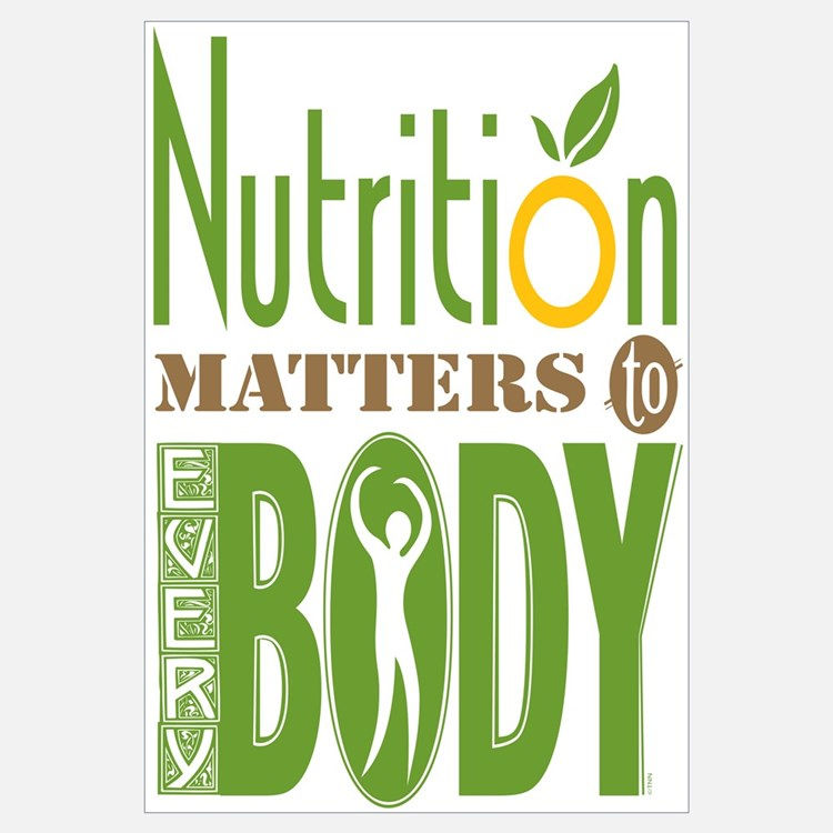 Nutrition wall art nutrition wall decor for Decor matters