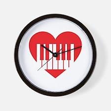 I Heart Synths Wall Clock