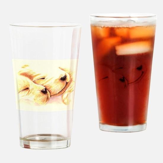 Golden Dreams Drinking Glass