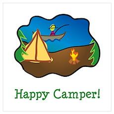 Happy Camper! Poster