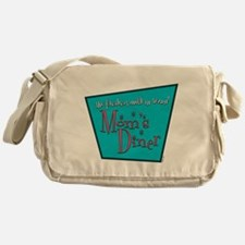 Mom's Diner Breast Milk Messenger Bag
