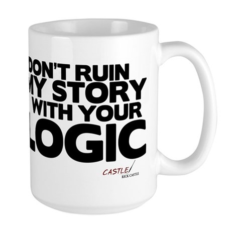 My Story... Your Logic Large Mug