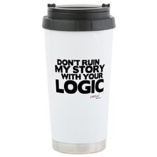 My Story... Your Logic Travel Mug