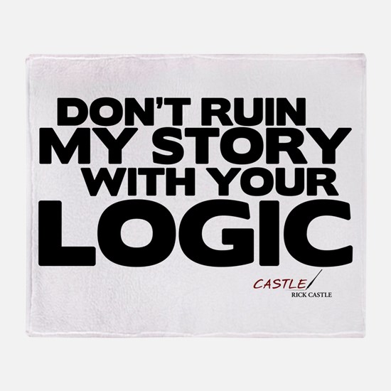 My Story... Your Logic Throw Blanket