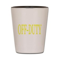 Off-Duty (Yellow) Shot Glass