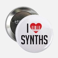 "I Heart Synths 2.25"" Button"